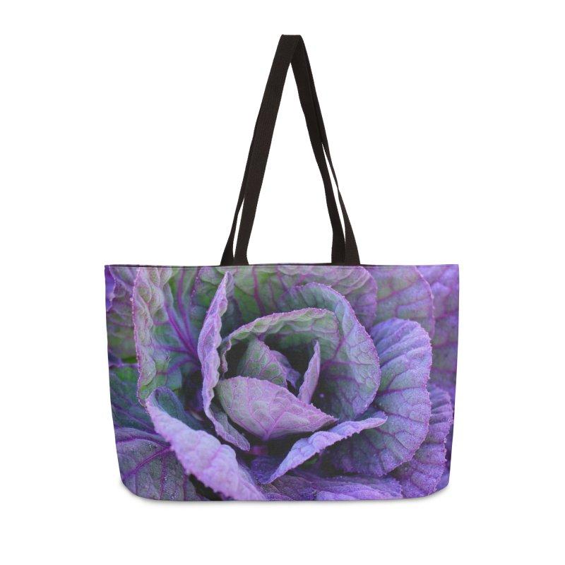 Purple Frost in Weekender Bag by 3boysenberries