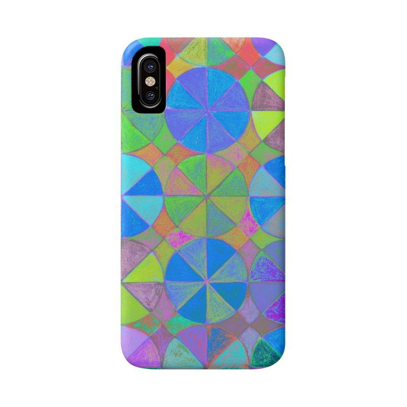 Rainbow Shard Accessories Phone Case by 3boysenberries