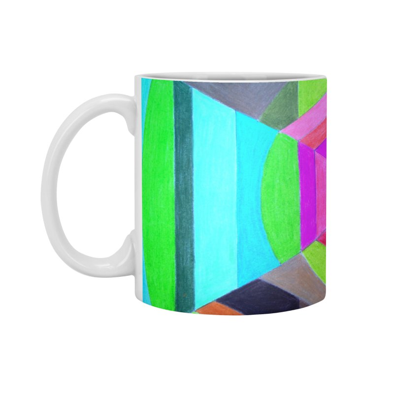 Spiral Hex Accessories Standard Mug by 3boysenberries