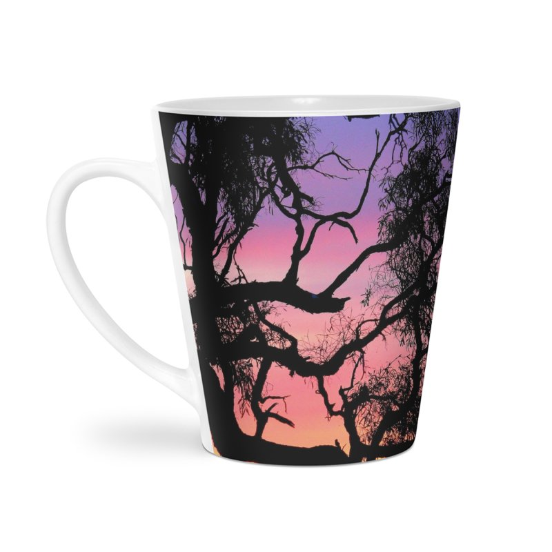 Lake Bonney Sunset Accessories Latte Mug by 3boysenberries