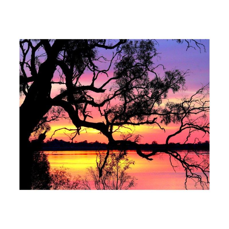 Lake Bonney Sunset by 3boysenberries