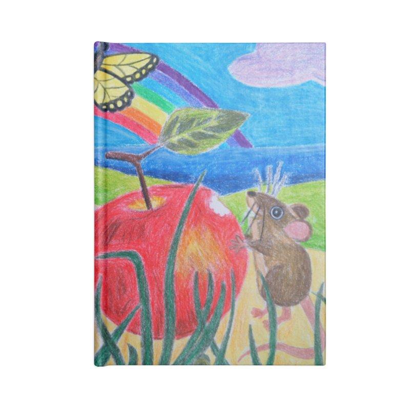 Little Lunch Accessories Blank Journal Notebook by 3boysenberries