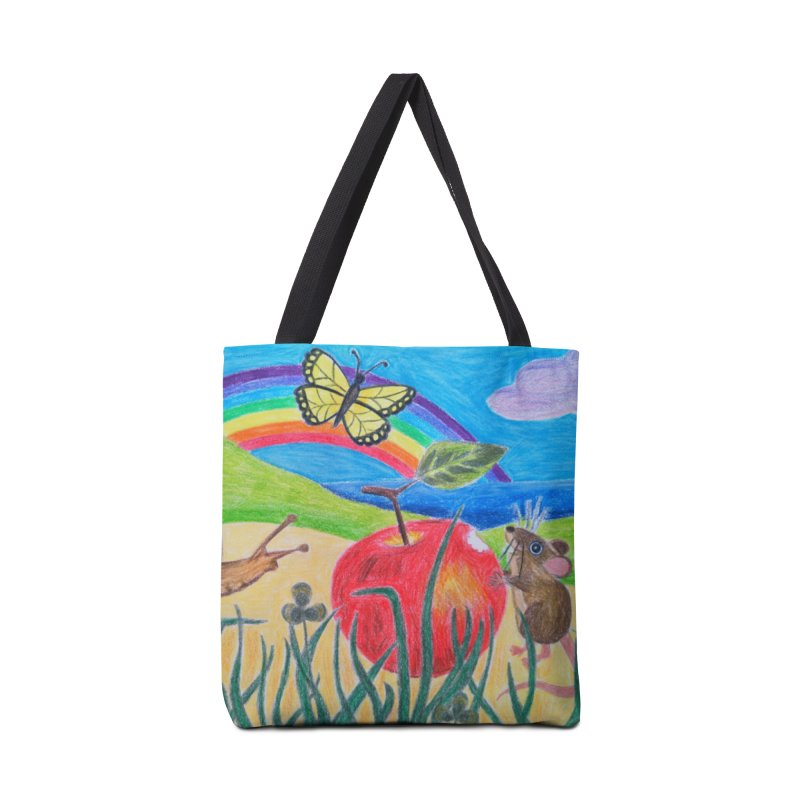 Little Lunch Accessories Tote Bag Bag by 3boysenberries