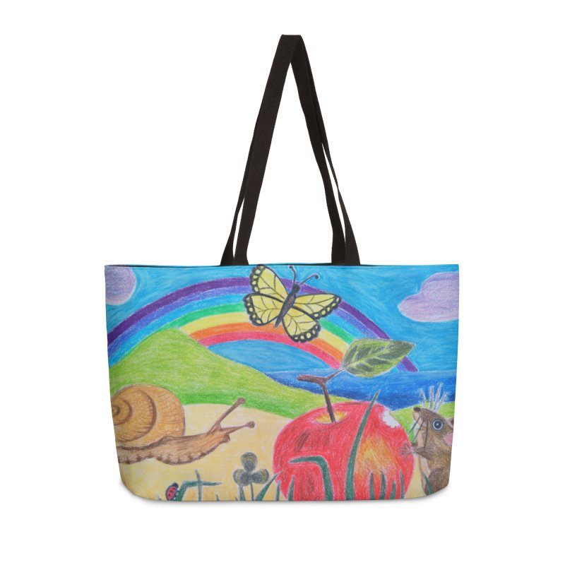 Little Lunch Accessories Weekender Bag Bag by 3boysenberries