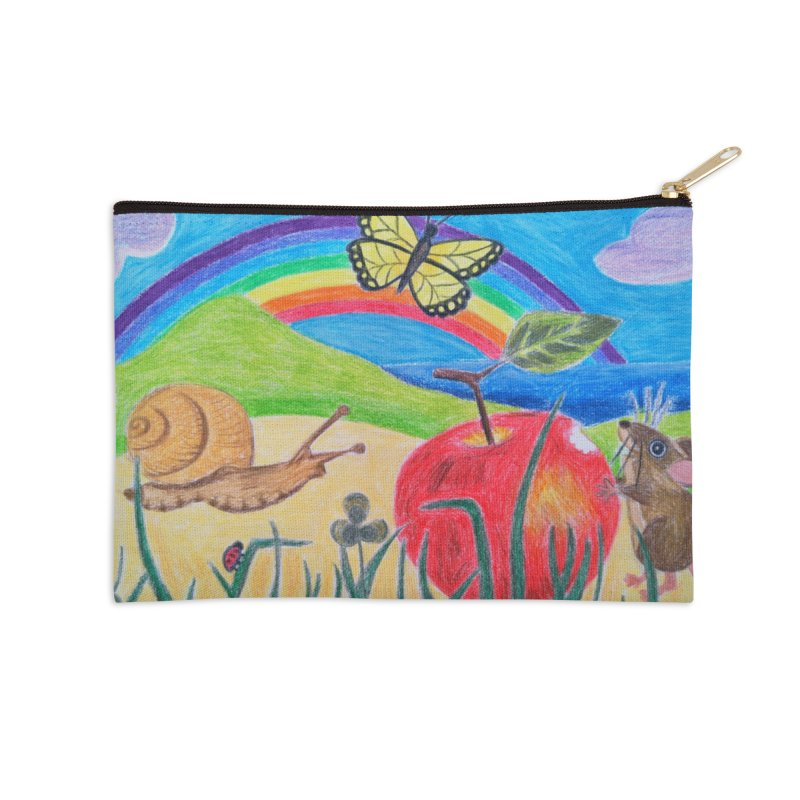 Little Lunch Accessories Zip Pouch by 3boysenberries
