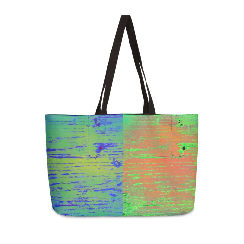 Splitsville Planet Accessories Weekender Bag Bag by 3boysenberries