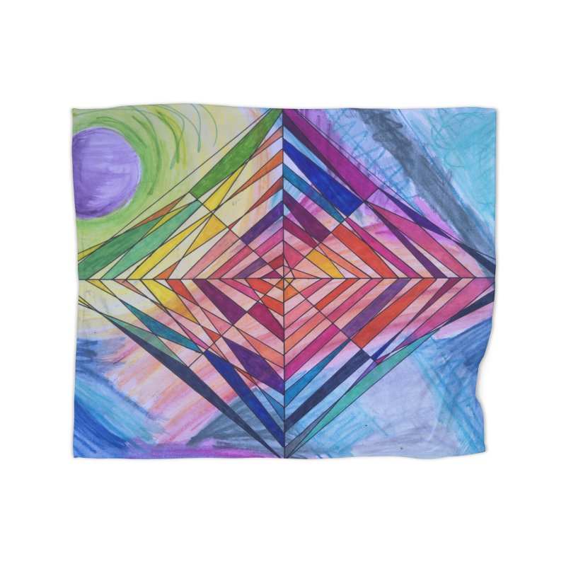 Diamond Web Home Fleece Blanket Blanket by 3boysenberries
