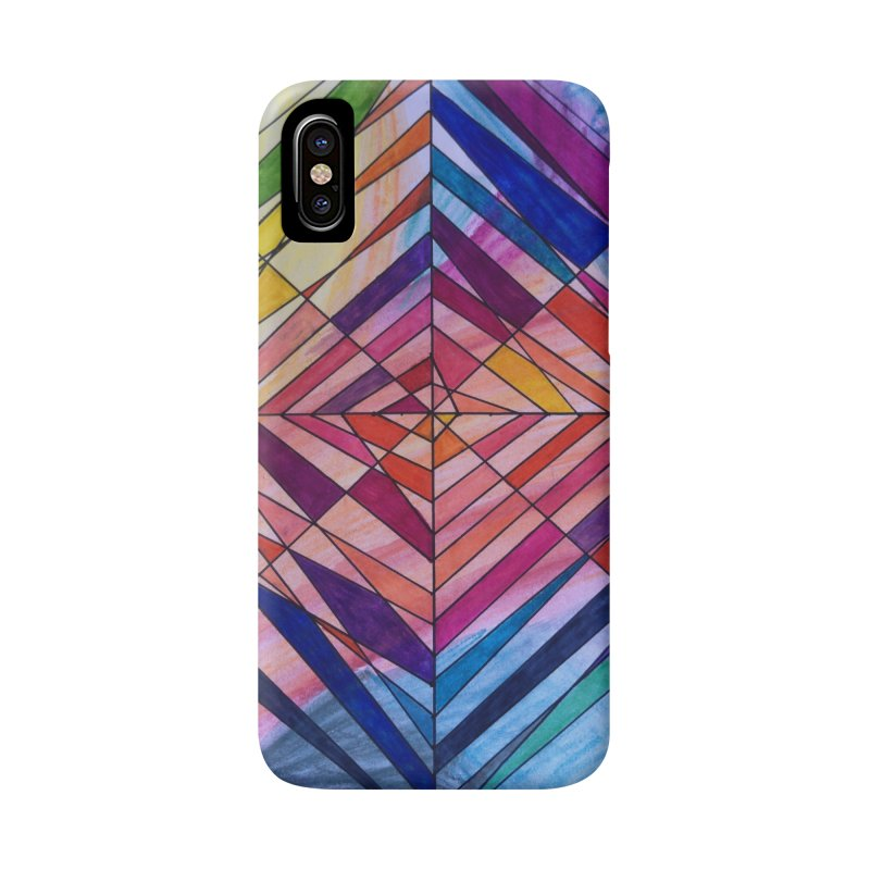 Diamond Web Accessories Phone Case by 3boysenberries