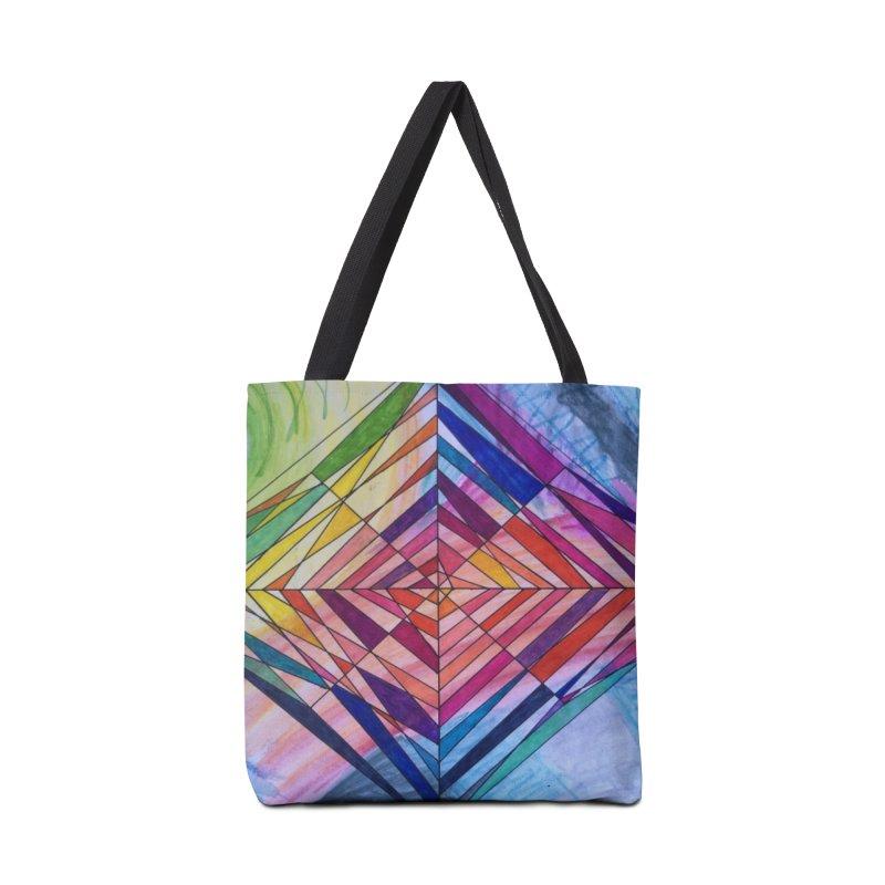 Diamond Web Accessories Tote Bag Bag by 3boysenberries