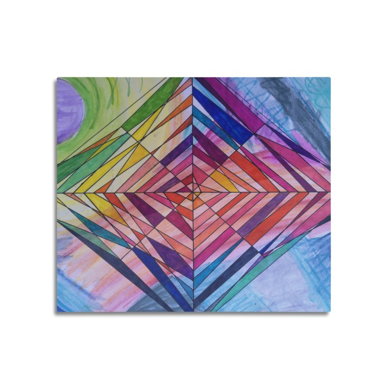 Diamond Web Home Mounted Acrylic Print by 3boysenberries