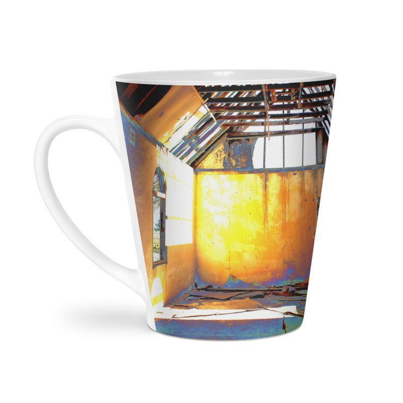 Abandoned Church Accessories Latte Mug by 3boysenberries