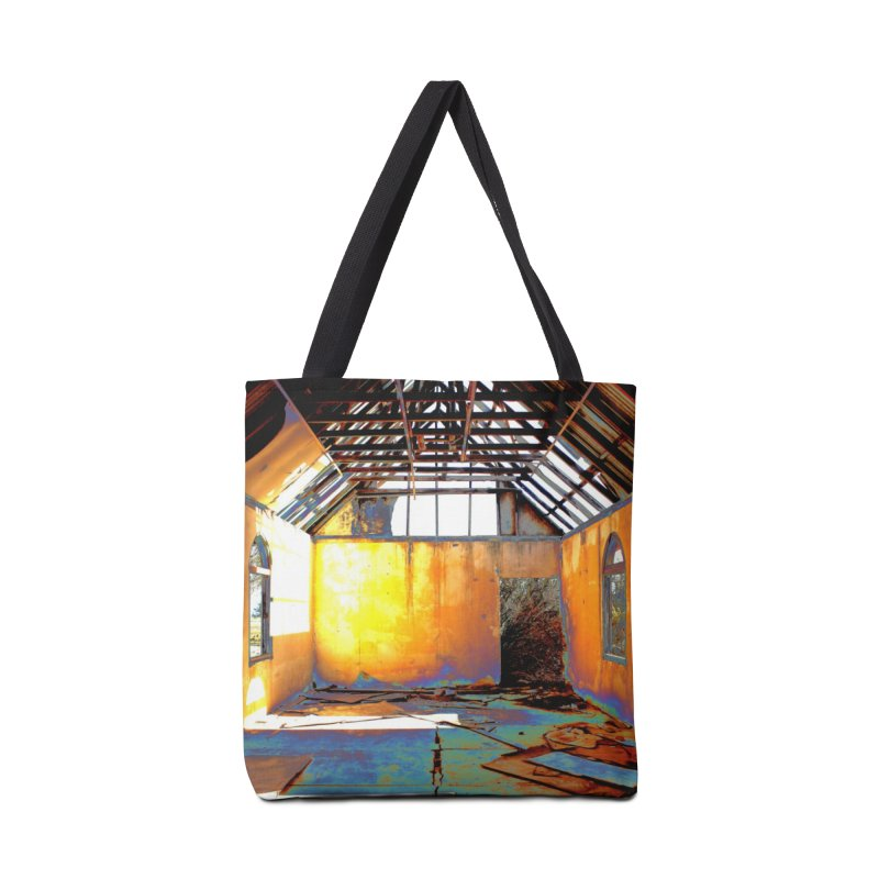 Abandoned Church Accessories Tote Bag Bag by 3boysenberries