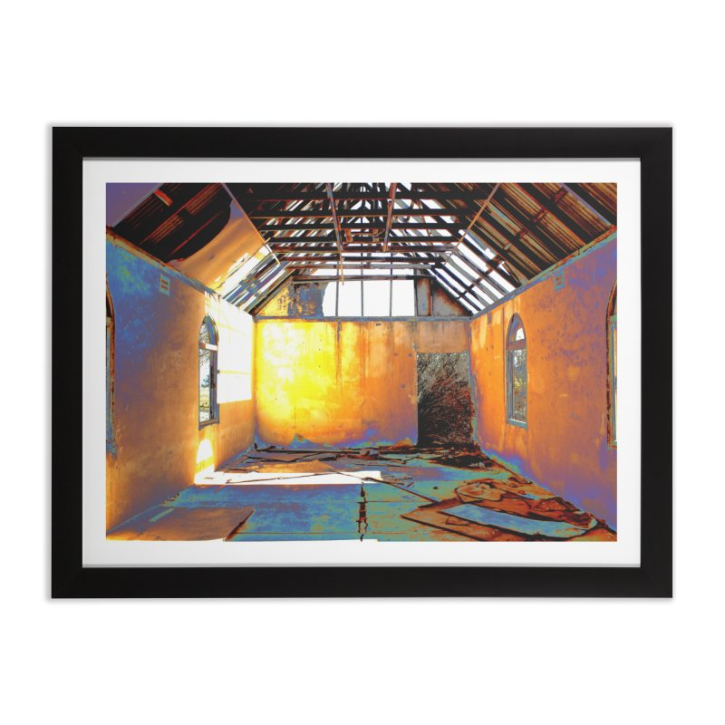 Abandoned Church Home Framed Fine Art Print by 3boysenberries