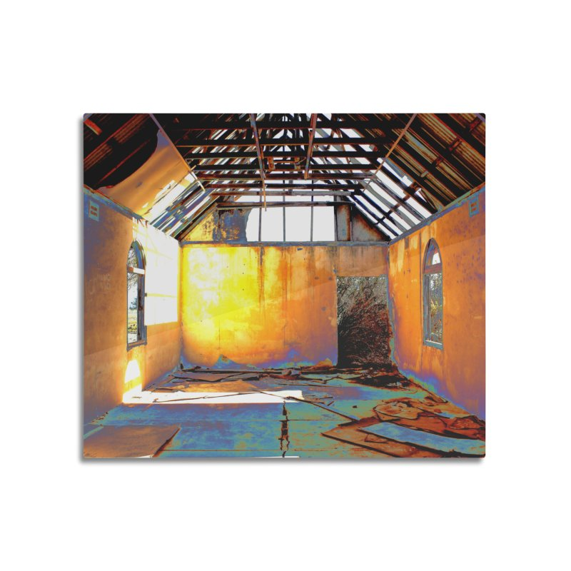Abandoned Church Home Mounted Acrylic Print by 3boysenberries