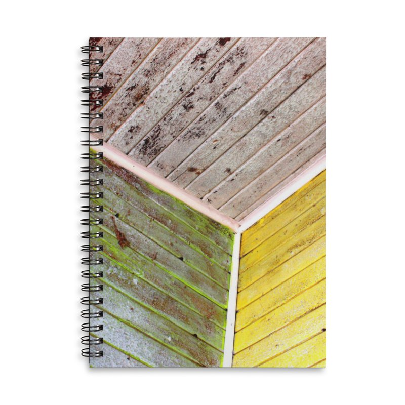 Reclaim Accessories Lined Spiral Notebook by 3boysenberries
