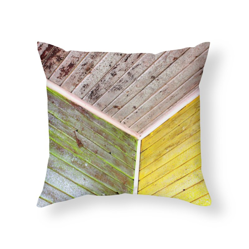 Reclaim Home Throw Pillow by 3boysenberries