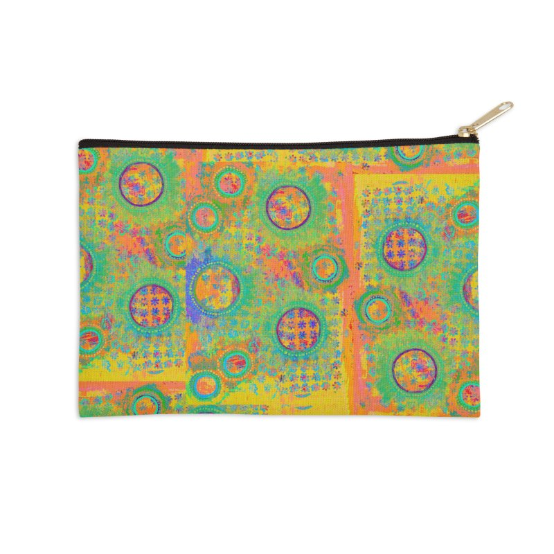 Moonscape Accessories Zip Pouch by 3boysenberries