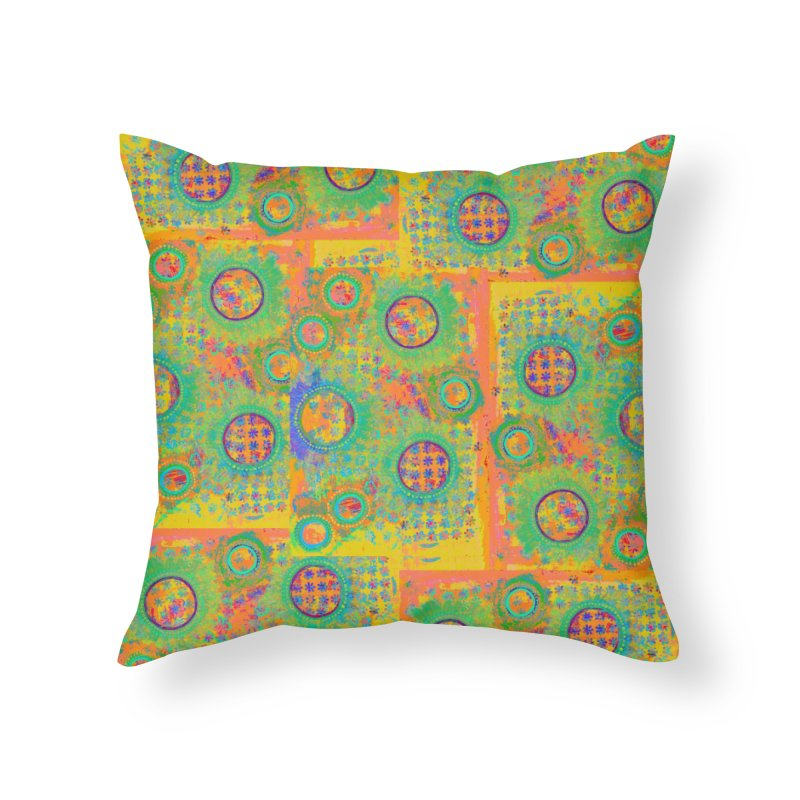 Moonscape in Throw Pillow by 3boysenberries