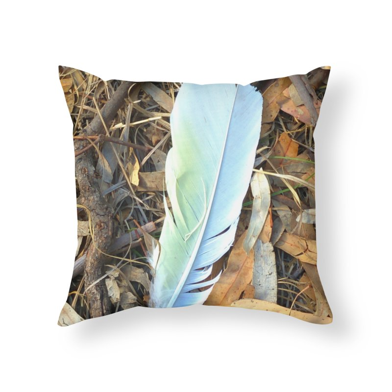 Cockatoo Token Home Throw Pillow by 3boysenberries
