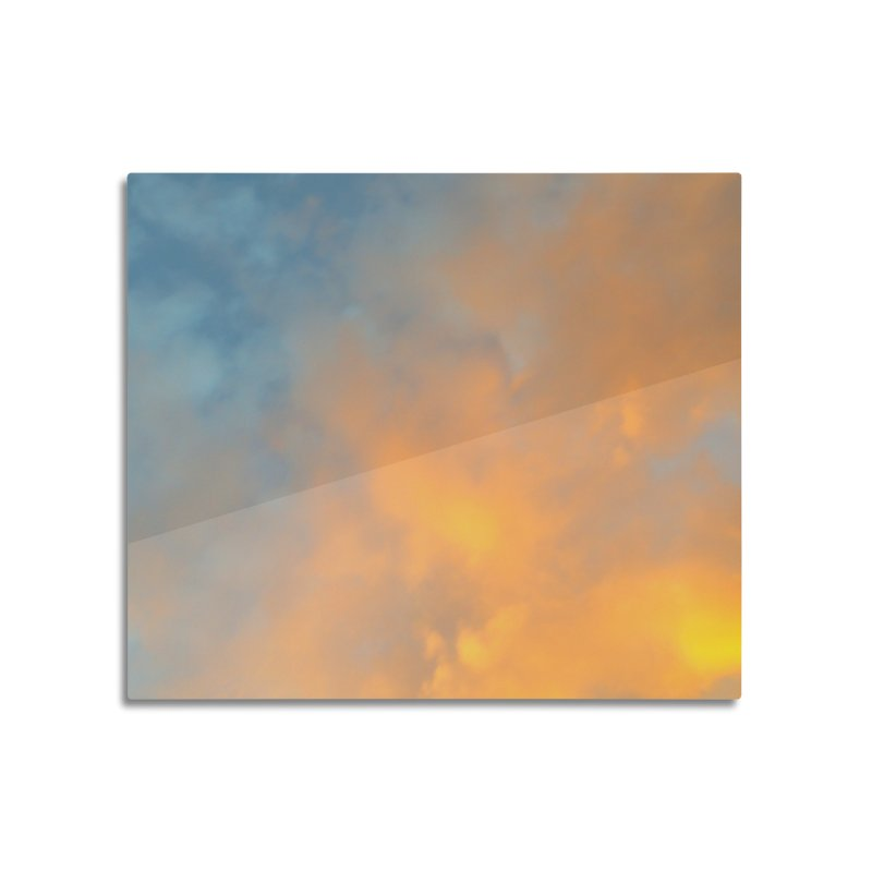 Golden Blue Sky in Mounted Acrylic Print by 3boysenberries