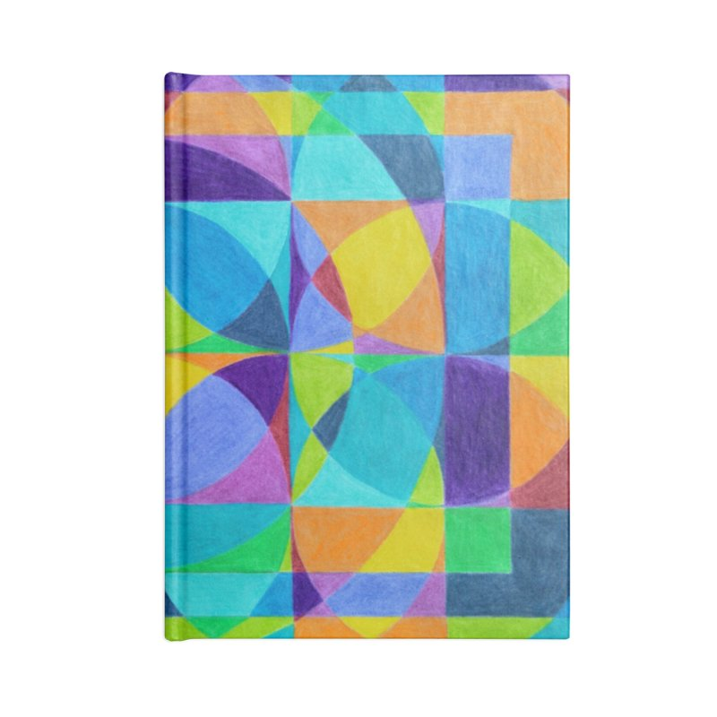 The 'Cross of Light' Effect Accessories Blank Journal Notebook by 3boysenberries