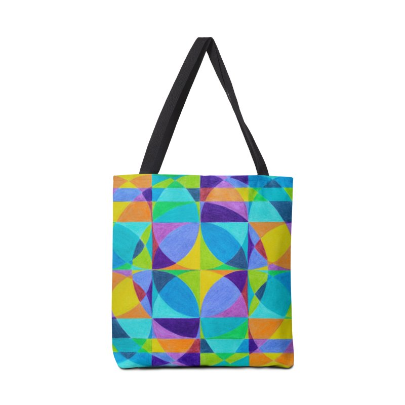 The 'Cross of Light' Effect Accessories Tote Bag Bag by 3boysenberries