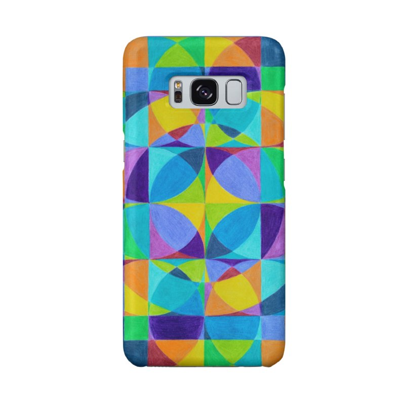 The 'Cross of Light' Effect in Galaxy S8 Phone Case Slim by 3boysenberries
