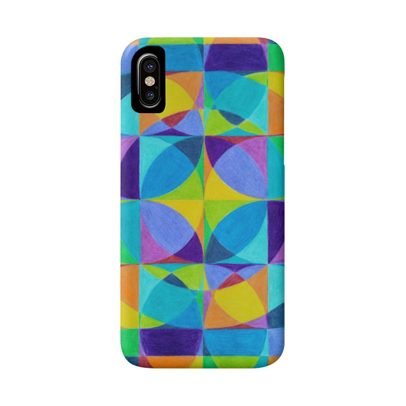 The 'Cross of Light' Effect Accessories Phone Case by 3boysenberries