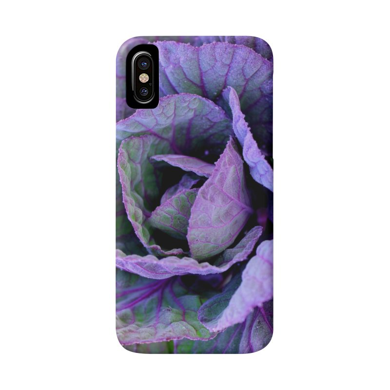 Purple Frost Accessories Phone Case by 3boysenberries