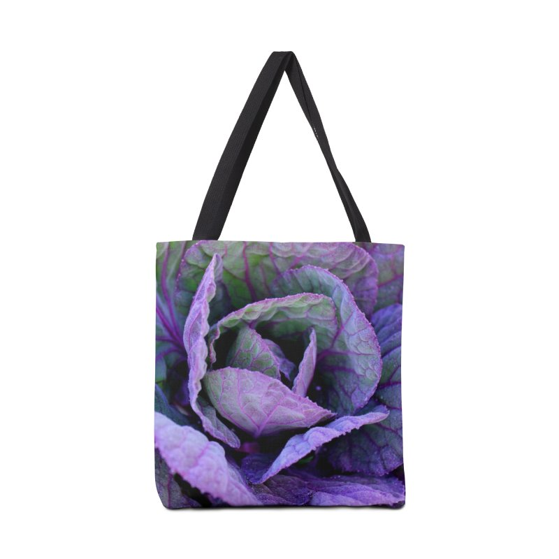 Purple Frost Accessories Tote Bag Bag by 3boysenberries