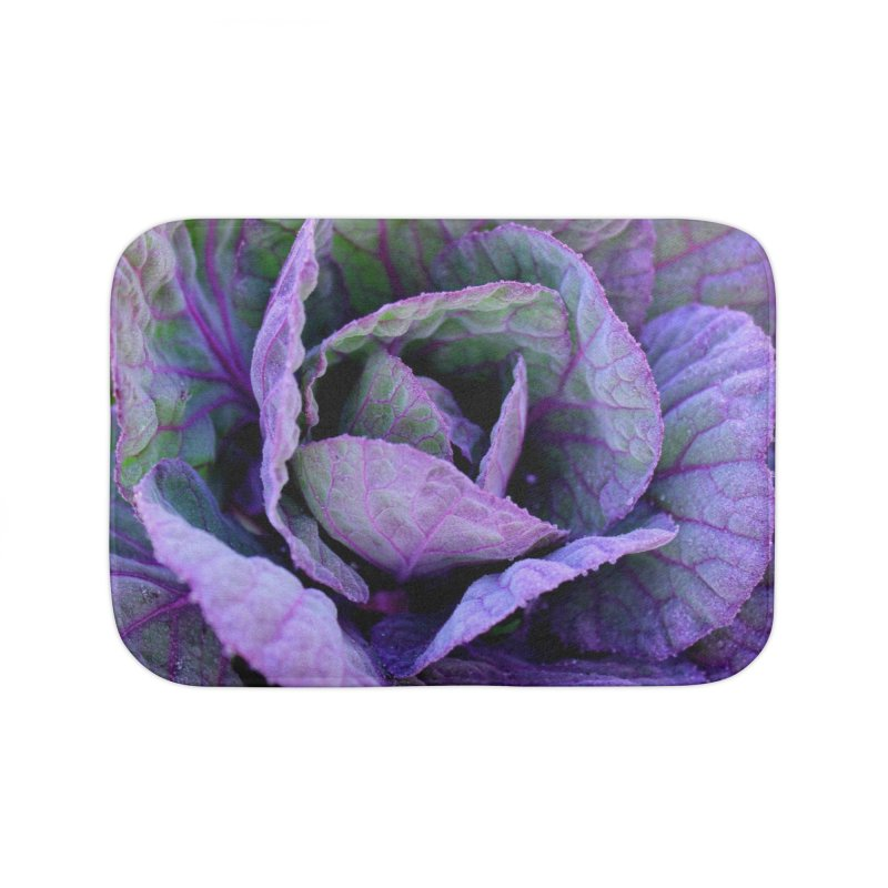Purple Frost Home Bath Mat by 3boysenberries