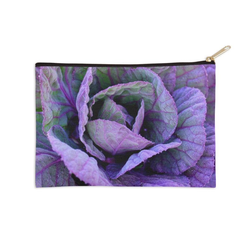 Purple Frost Accessories Zip Pouch by 3boysenberries