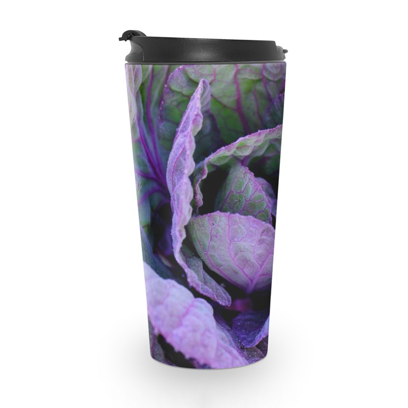 Purple Frost Accessories Travel Mug by 3boysenberries
