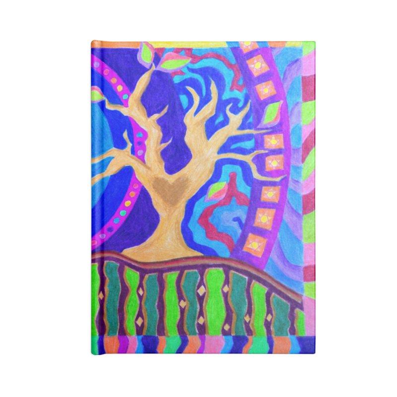 Seasons & Phases Accessories Blank Journal Notebook by 3boysenberries