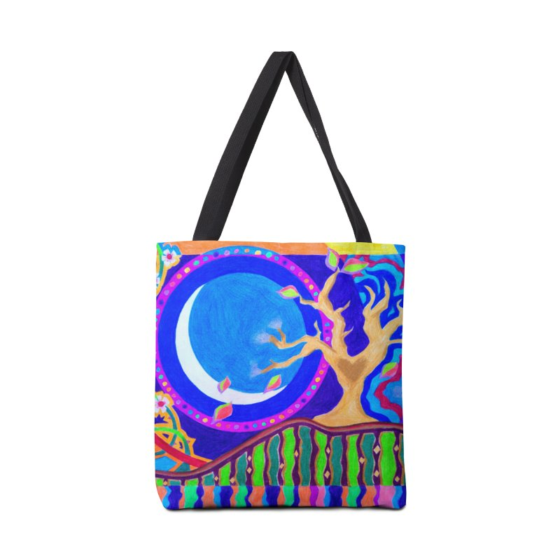 Seasons & Phases Accessories Tote Bag Bag by 3boysenberries
