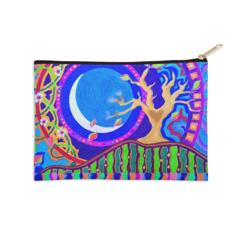 Seasons & Phases Accessories Zip Pouch by 3boysenberries