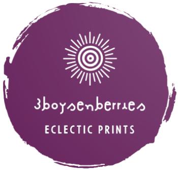 3boysenberries Logo