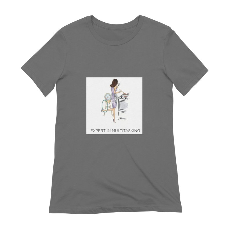 Expert in Multitasking Women's T-Shirt by 3Cstyle's Artist Shop