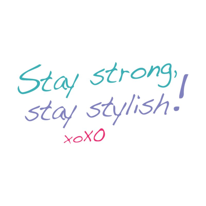 Stay strong, stay stylish! Men's T-Shirt by 3Cstyle's Artist Shop
