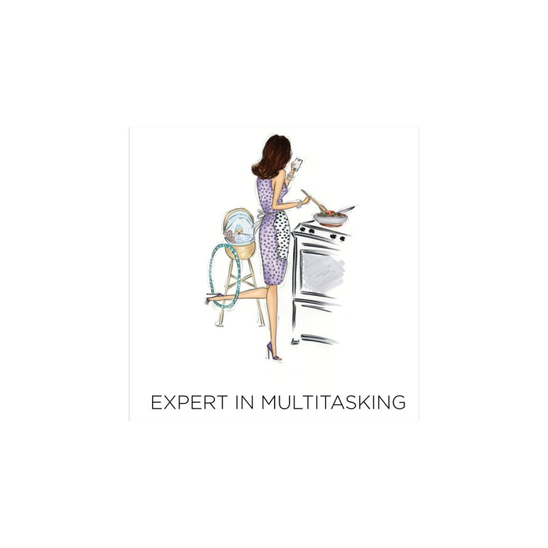 Expert in Multitasking Men's T-Shirt by 3Cstyle's Artist Shop