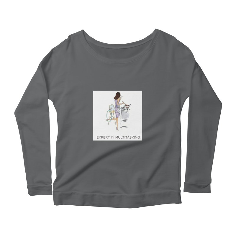 Expert in Multitasking Women's Longsleeve T-Shirt by 3Cstyle's Artist Shop