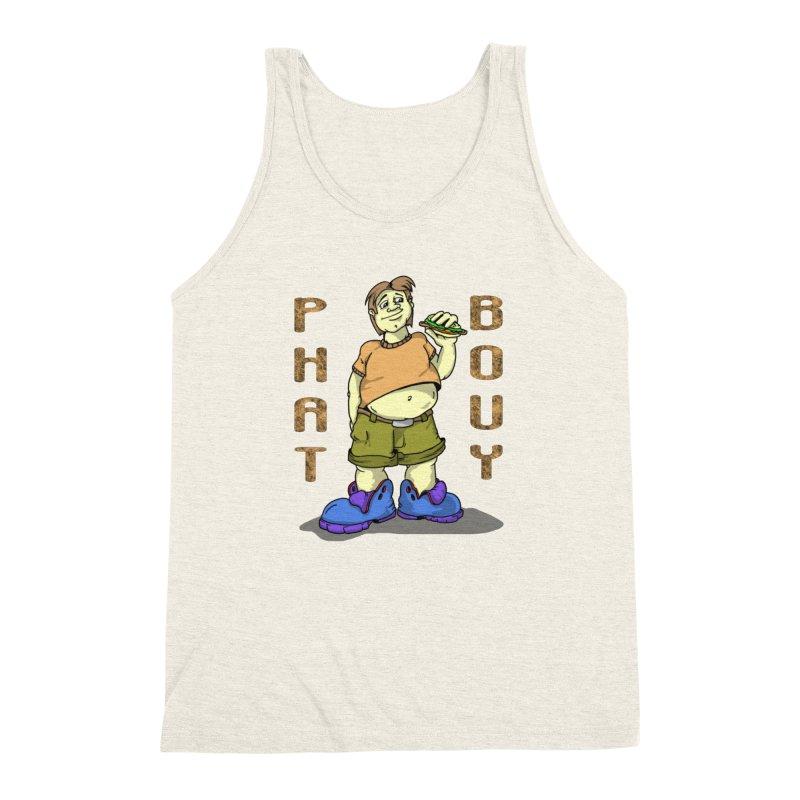 Phat Bouy Men's Triblend Tank by GeckoTales Artist Shop