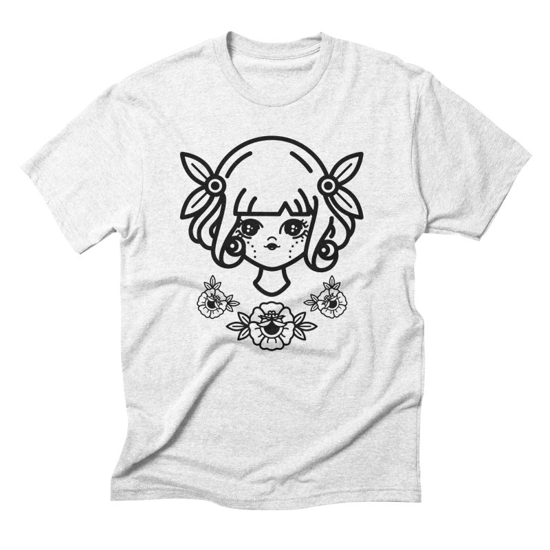 makoto girl Men's Triblend T-shirt by 3lw's Artist Shop