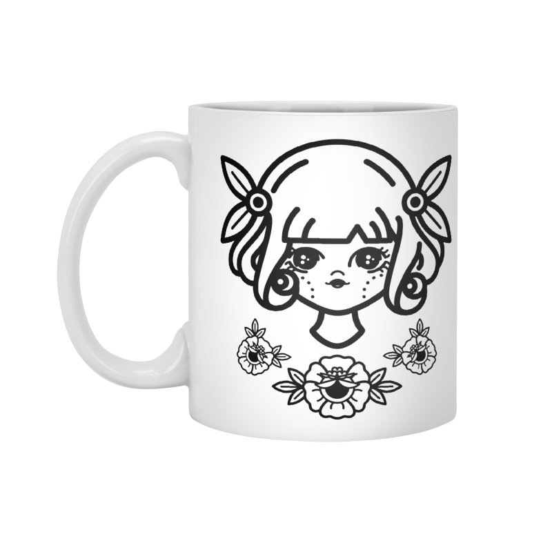 makoto girl Accessories Standard Mug by Cristóbal Urrea