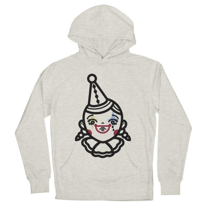 don't cry little clown girl Men's Pullover Hoody by 3lw's Artist Shop