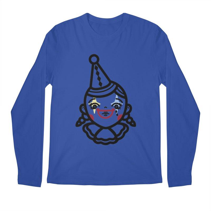 don't cry little clown girl Men's Longsleeve T-Shirt by 3lw's Artist Shop