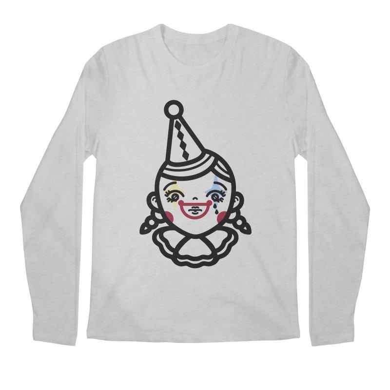 don't cry little clown girl Men's Regular Longsleeve T-Shirt by 3lw's Artist Shop