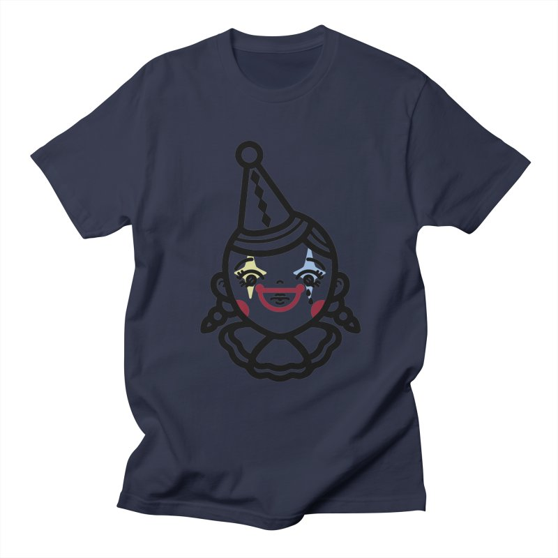 don't cry little clown girl Women's Regular Unisex T-Shirt by Cristóbal Urrea