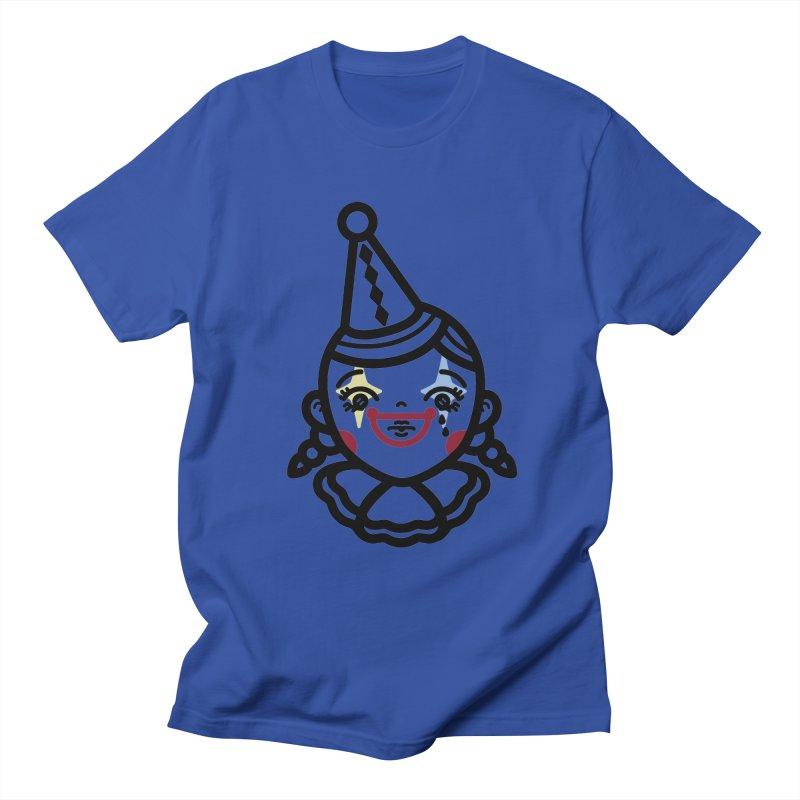 don't cry little clown girl Men's T-Shirt by 3lw's Artist Shop