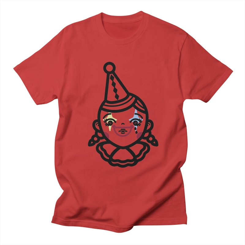 don't cry little clown girl Men's T-shirt by 3lw's Artist Shop
